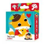 CzuCzu-33643 Mini Puzzle - Fuchs
