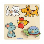Puzzle  Djeco-DJ-01008 Holz Einbau - Pioupiou