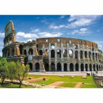 Puzzle  DToys-50328-AB07 Italien - Rom, Kolosseum