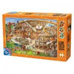 Puzzle  Dtoys-61218-CC10 Cartoon Collection - Kolliseum