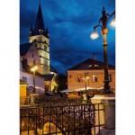 Puzzle  DToys-63038-MN11 Rumänien: Sibiu ehemals Hermannstadt
