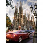 Puzzle  DToys-64288-FP06 Spanien - Barcelona, Sagrada Familia
