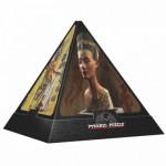 DToys-65957-PP01 3D Pyramide - Ägypten: Die Götter / schwieriges Puzzle