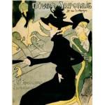 DToys-66978-TL07 Toulouse-Lautrec: Divan japonais / schwieriges Puzzle