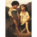Puzzle  DToys-67364-AM03 Art Collection: Am Bach