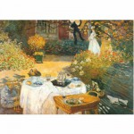 Puzzle  DToys-67548-CM02 Monet: Das Frühstück