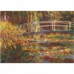 Puzzle  DToys-67548-CM05 Monet: Le pont japonais