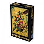 Puzzle  Dtoys-72849-KA-04 Kandinsky Vassily: Points