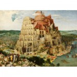 Puzzle  Dtoys-72900-BR-01 Brueghel Pieter: Der Turmbau zu Babel, 1563