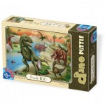 Puzzle  Dtoys-73037-DP-02 Dinosaurier