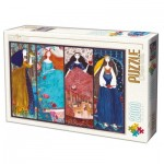Puzzle  Dtoys-73860-KA01 Kurti Andi - Collage