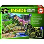 Puzzle  Educa-15897 Dinosaurier