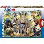 Puzzle  Educa-15908 Klassenfoto