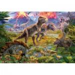 Puzzle  Educa-15969 Dinosaurier-Treffen