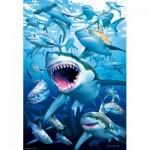 Puzzle  Educa-17085 Sharks
