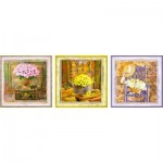 Educa-17095 3 Puzzles - Enchanted Moments, Gail Marie