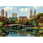 Puzzle  Educa-17136 Central Park Bow Bridge