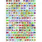 Puzzle  Eurographics-6000-0128 Flaggen dieser Erde