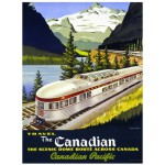 Puzzle  Eurographics-6000-0322 Canadian Pacific Rail The Canadian