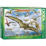 Puzzle  Eurographics-6000-0680 Dinosaurier Flugsaurier