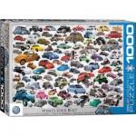 Puzzle  Eurographics-6000-0815 VW Beetle - Welcher ist dein Käfer?