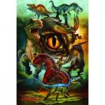 Puzzle  Eurographics-6100-0359 Fleischfressende Dinosaurier