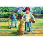 Puzzle  Eurographics-8000-0452 Corinne Hartley - Spielen wir Baseball