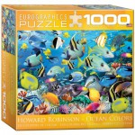 Puzzle  Eurographics-8000-0625 Howard Robinson: Farben des Ozeans