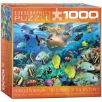 Puzzle  Eurographics-8000-0626 Howard Robinson: Die Reise der Meeresschildkröte