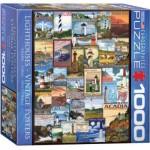 Puzzle  Eurographics-8000-0779 Leuchttürme