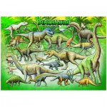 Puzzle  Eurographics-8104-0098 Dinosaurier