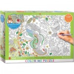 Puzzle   XXL Color Me - Tropical Birds
