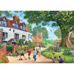 Puzzle   Around Britain - Brenchley Village, Kent