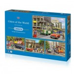 4 Puzzles - Kevin Walsh - Cities of The World