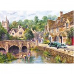 Puzzle  Gibsons-G6070 Castle Combe