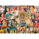 Puzzle  Gibsons-G7076 Robert Opie: Our Glorious Queen