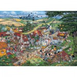 Puzzle  Gibsons-G794 Mike Jupp: I Love the Farmyard