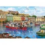 Puzzle   XXL Teile - Dominic Davidson - Cobh Harbour