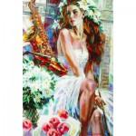 Puzzle  Gold-Puzzle-61079 Die Frau mit dem Saxophon