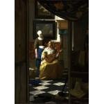 Puzzle  Grafika-Kids-00156 Johannes Vermeer: Der Liebesbrief, 1669-1670