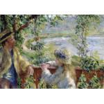 Puzzle  Grafika-Kids-00261 Magnetische Teile - Renoir Auguste: Près du Lac, 1879