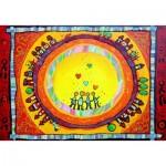 Puzzle  Grafika-Kids-00549 SOS MEDITERRANEE - Familienportrait