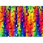 Puzzle  Grafika-Kids-01097 Magnetische Teile - Bunte Blasen
