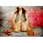 Puzzle  Grafika-Kids-01159 Magnetische Teile - Vintage Dancing Shoes