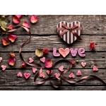 Puzzle  Grafika-Kids-01180 Magnetische Teile - Love