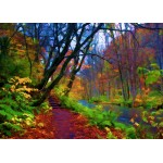 Puzzle  Grafika-Kids-01201 Magnetische Teile - Herbstwald