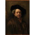 Puzzle  Grafika-Kids-01262 Rembrandt - Selbstporträt, 1660
