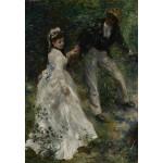 Puzzle  Grafika-Kids-01391 Pierre-Auguste Renoir: La Promenade, 1870