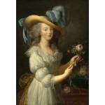 Puzzle  Grafika-Kids-01425 Elisabeth Vigée-Lebrun: Marie-Antoinette, 1783