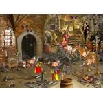 Puzzle  Grafika-Kids-01428 Magnetische Teile - François Ruyer: Dungeon